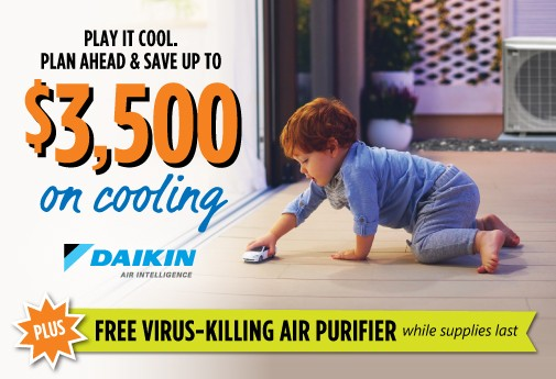 Choose Daikin FIT