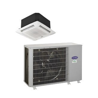 Performance™ Commercial Ductless Cassette Heat Pump System Model: 38QRF/40KMQ