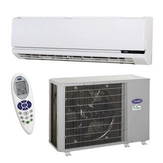 Performance™ Commercial Ductless Highwall Heat Pump System Model: 38QRF/40QNQ