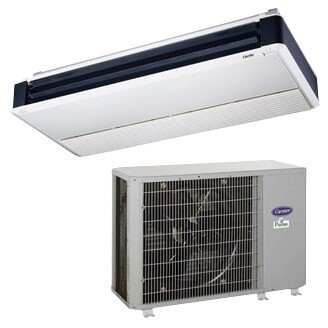 Performance™ Commercial Ductless Underceiling Heat Pump System Model: 38QRR/40QAQ