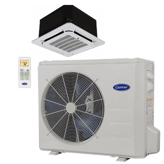 Performance™ Residential Ductless Cassette Heat Pump System Model: 38MAR/40MBC