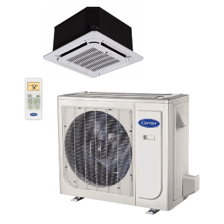 Performance™ Residential Ductless Cassette Heat Pump System Model: 38MAQ/40MBC