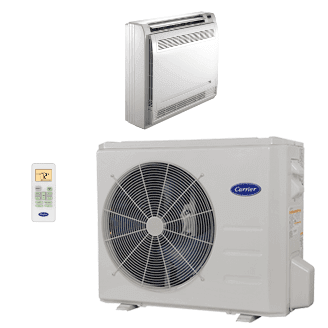Performance™ Residential Ductless Floor Console Heat Pump System Model: 38MAR/40MBF