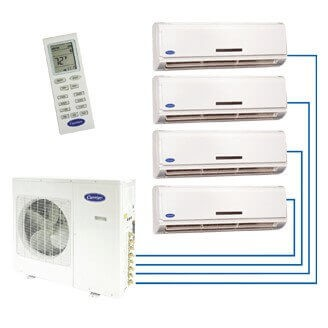 Performance™ Residential Ductless Multi-Split Heat Pump System Model: 38/40GXM