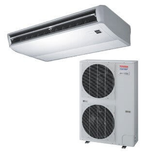 Toshiba Carrier Commercial Ductless Underceiling Heat Pump System Model: RAV-AT/CT