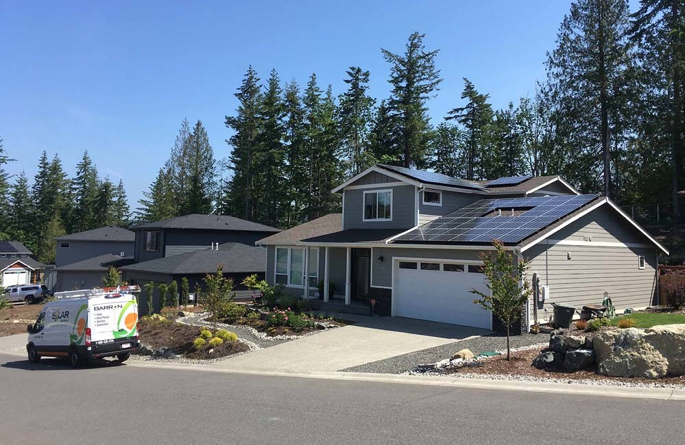 Bellingham, WA | Geneva Neighborhood | Solar by Barron | Barron Electrical | Barron Heating